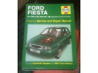 FORD FIESTA HAYNES MANUAL 95-02