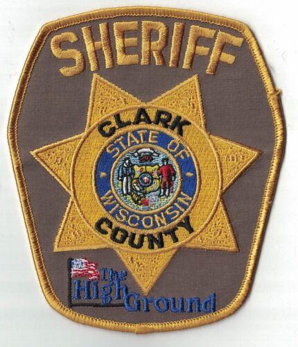 Clark County Sheriff  WIS Wisconsin Patch