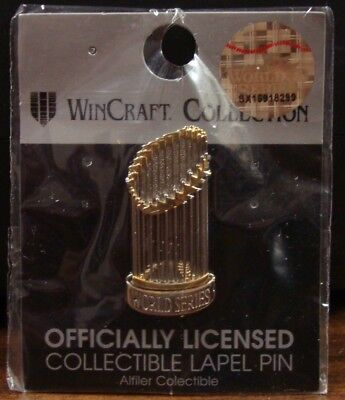 BOSTON RED SOX LOS ANGELES DODGERS WORLD SERIES TROPHY COLLECTOR PIN NEW ()