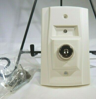 System Sensor Remote Test And Reset Station With Key For Duct Smoke Detector Tf