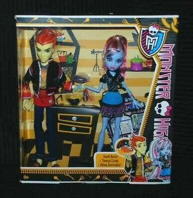 Monster High Home Ick Classroom 2 Doll Pack of Abbey Bominable &...