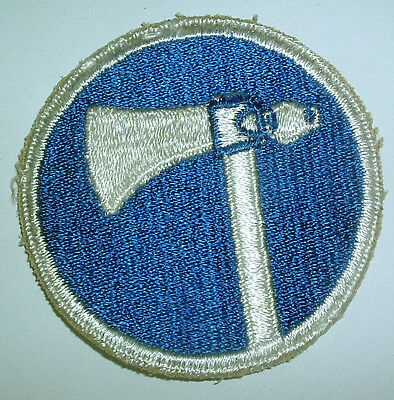 AMERICAN PATCHES-ORIGINAL WW2 19th ARMY CORPS