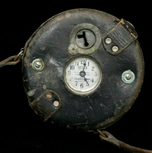 VINTAGE DETEX GUARDSMAN WATCHCLOCK CIRCA 1930s