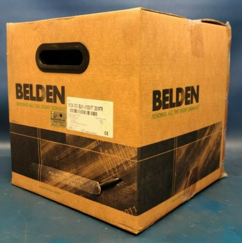 Brand New Belden 1613A, Coaxial Cable, CATV, RG6, 18 AWG, 75 ohm, 1000 ft, 305 m