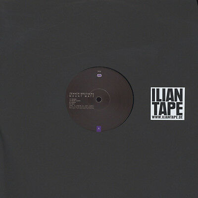 """Zenker Brothers - Mount Watz (Vinyl 12"""" - 2014 - EU - Original)"""