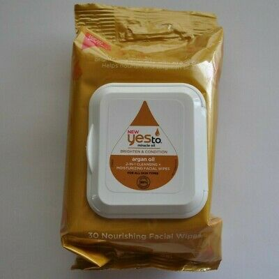 Yes to Miracle Oil Argan Oil 2 in 1 Wipes