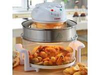 Halogen cooker