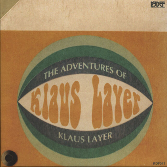 Klaus Layer - The Adventures Of Captain Crook (CD - 2013 - US - Original)