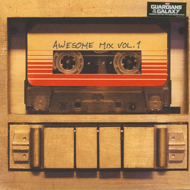 V.A. - OST Guardians Of The Galaxy: Awesome Mi (Vinyl LP - 2014 - EU - Original)