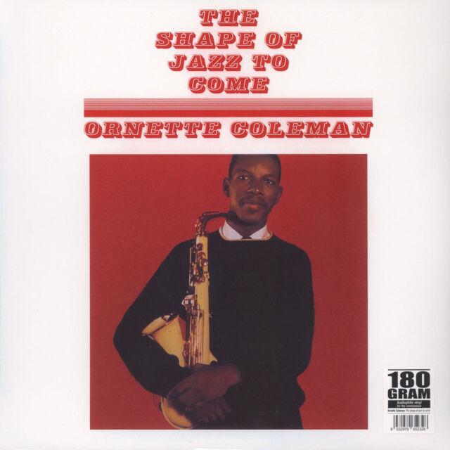 Ornette Coleman - The Shape Of Jazz To Come (Vinyl LP - 1959 - EU - Reissue)