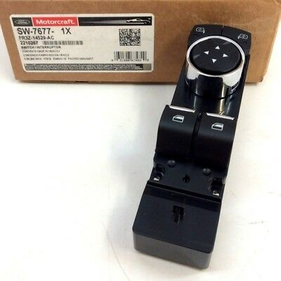 Ford Mustang Window Switch (Ford Mustang LH Driver Side Door Master Window Switch With Mirror Control OEM)
