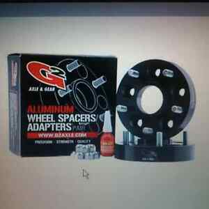 """FREE SHIPPING pair of wheel spacers 6 bolt 1.25"""" 6X5.5"""