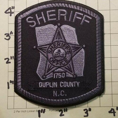Duplin County (NC) Sheriff