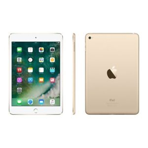 iPad mini 4 gold (used only twice)