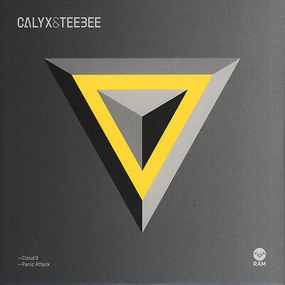 "Calyx & Teebee - Cloud 9 / Panic Attack (Vinyl 12"" - 2015 - UK - Original)"