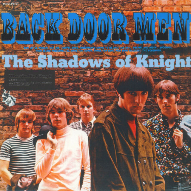 Shadows Of Knight, The - Back Door Men (Vinyl LP - 1966 - EU - Reissue)