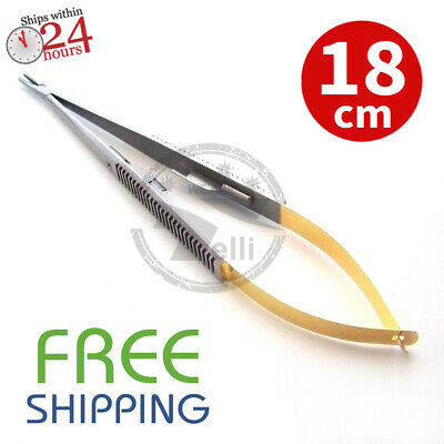Straight Castroviejo Microsurgical Needle Holder 7 Pliers Tc Surgical Instrumen