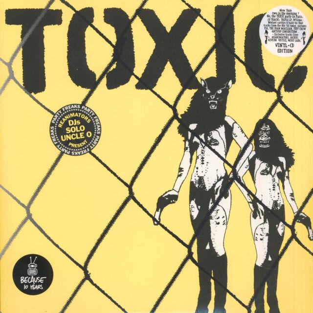 V.A. - Toxic Compilation (Vinyl 3LP+CD - 2005 - FR - Reissue)