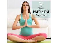 Online Prenatal Yoga Classes