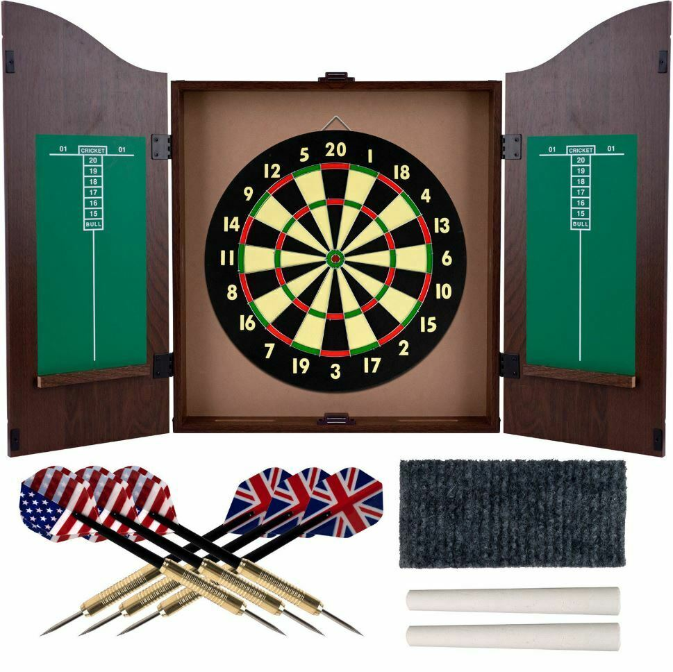 dartboard cabinet set professional dart board bar