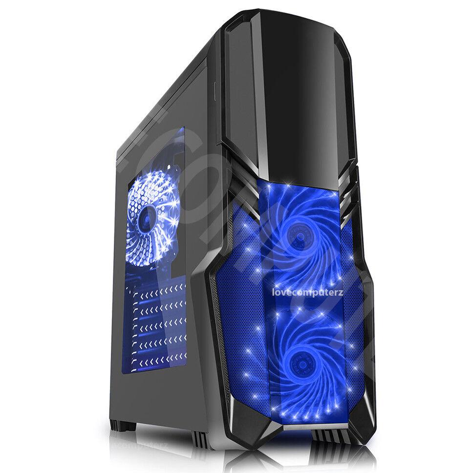 Computer Games - GAMING PC Computer Quad CPU i5 SSD HDD 4-16 GB RAM GT GTX GFX Windows 7 10 Wifi