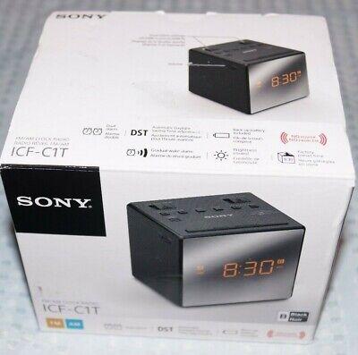 Sony ICFC1T Dual Alarm Clock Radio Black Original Price: 29.99