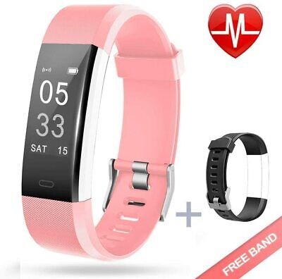 Lintelek Fitness Activity Tracker Heart Rate Monitor with Connected GPS