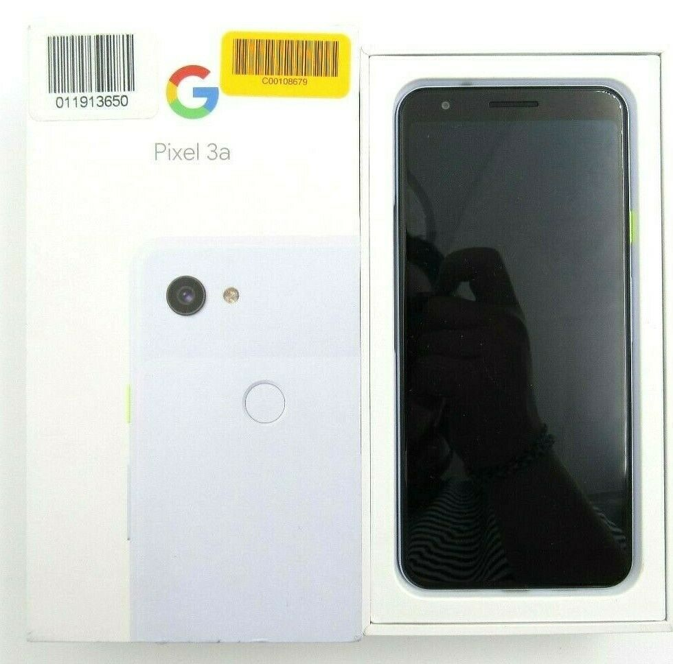 Open Box Google Pixel 3a G020G Unlocked 64GB Check IMEI -RS592