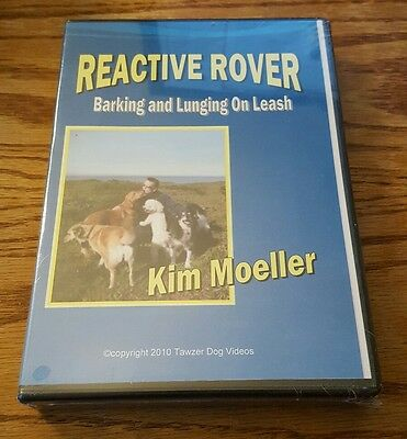 Reactive Rover: Barking and Lunging On Leash (DVD) Tawzer dog training video NEW