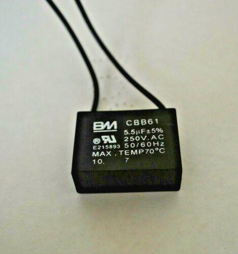 FAN CAPACITOR CBB61 5.5uf 250VAC