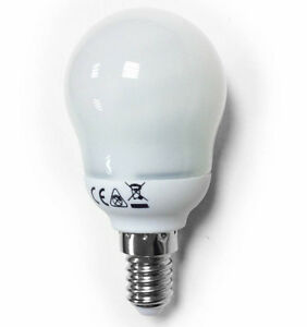 10-LOW-ENERGY-SAVING-GOLF-LIGHT-BULBS-SES-SMALL-SCREW-3500k-COOL