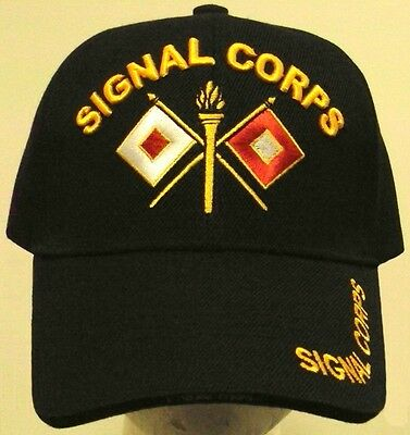 US UNITED STATES ARMY SIGNAL CORPS USASC WATCHFUL FOR THE COUNTRY BRANCH CAP HAT
