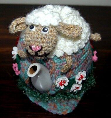 Чай сближается Tea Cozy handmade,Easter gift,Wedding