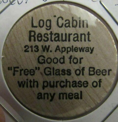 Vintage Log Cabin Restaurant Coeur D
