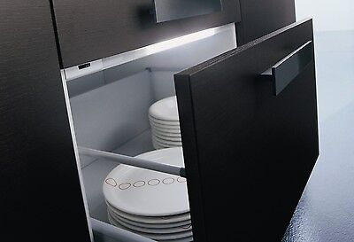 Kitchen Automatic Drawer Light For 600 800 1000mm Wide Base Unit Pan Drawer 240v