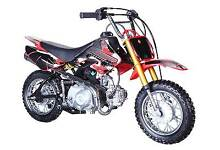 NEW  50cc DIRT BIKE...electric start Capalaba Brisbane South East Preview