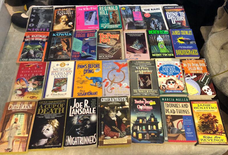Pocket Book Paperback Mystery Lot