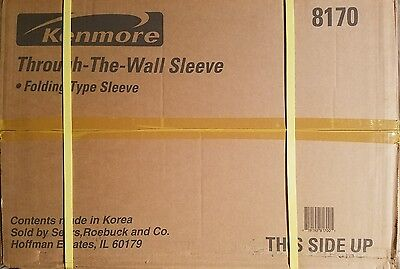 Kenmore 26 in A/C through the wall sleeve 8170 folding type sleeve grill & panel