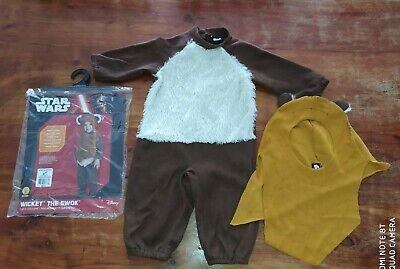 Star Wars Kinder Kostüm Ewok, ca. Gr. 86/92, für 1-2jährige, Halloween Fasching