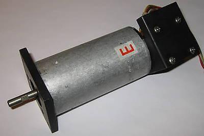 Stepper Motor W Optical Encoder - 65 Oz-in - Warner Electric - 6 Mm Dia Shaft