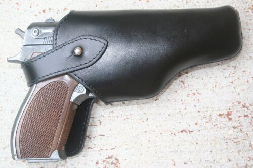 Spanish Cap Gun Pistol with Leather Holster LITTLE TOM 8-Shot BRAND NEW 70030