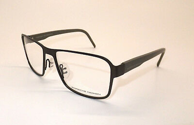Porsche Design P 8290 B Men Eyewear Optical Frame DEMO Lenses Square Metal X9/16