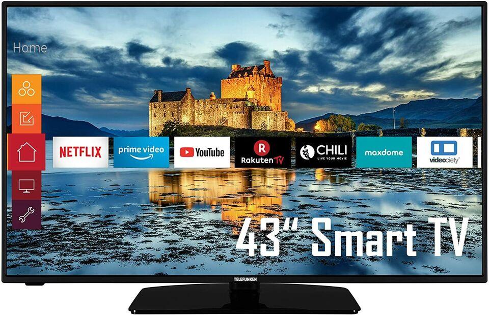 ⚠️ NEU&OVP - Telefunken 43 Zoll (108cm) - Smart TV 4k Ultra HD in Voerde (Niederrhein)