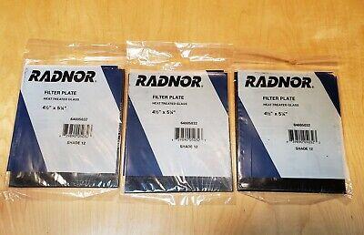 """Harris Shade 6 Welding Helmet Glass Filter Plate Lens 4 1//2/"""" x 5 1//4/"""" 1045060"""