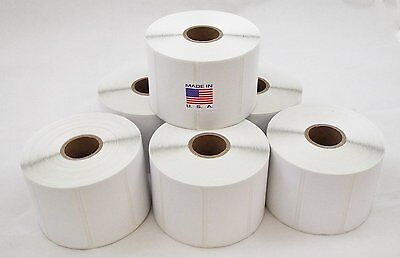 12 Rolls Perforated 2.25x1.25 Thermal Shipping Labels 1000/roll for Zebra LP2824