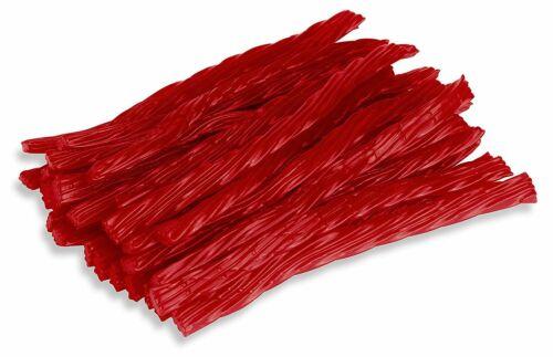 Happy Bites Red Raspberry Licorice Twists - Certified Kosher - 1 Pound Bag