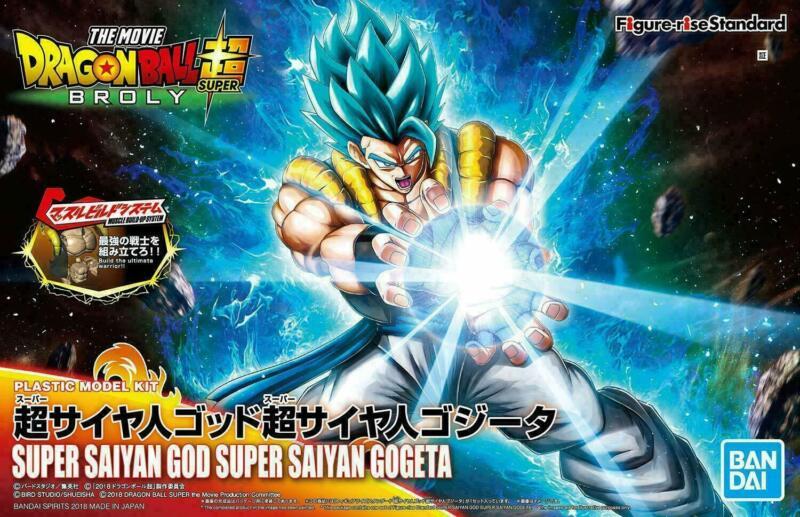 Bandai Figure-Rise Dragonball Super Super Saiyan God Gogeta Model Kit Standard