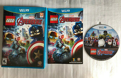 LEGO Marvel's Avengers (Nintendo Wii U, 2016), Complete, Great