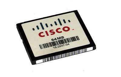 Cisco 16-2647-04 2811 2851 3825 64MB Compact Flash CF Card