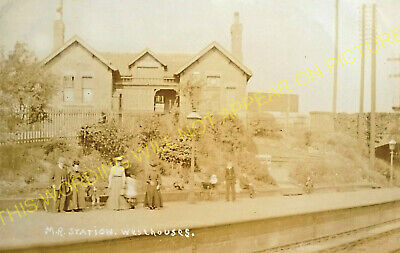 Westhouses & Blackwell Railway Station Photo. Alfreton & Normanton -Doe Hill (4)